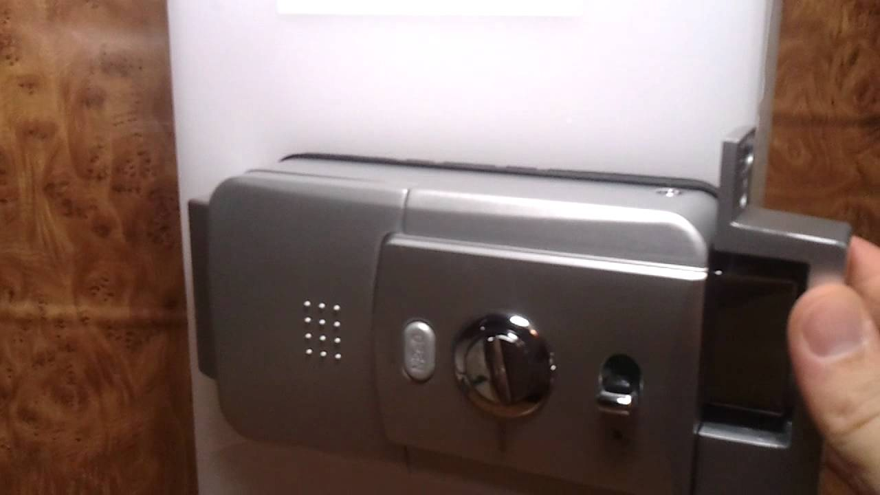 Sistema de seguridad de las cerraduras invisibles